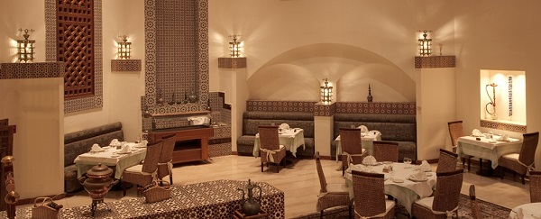 Phoenican Restaurant fusion of Mediterranean and Arabic cuisine