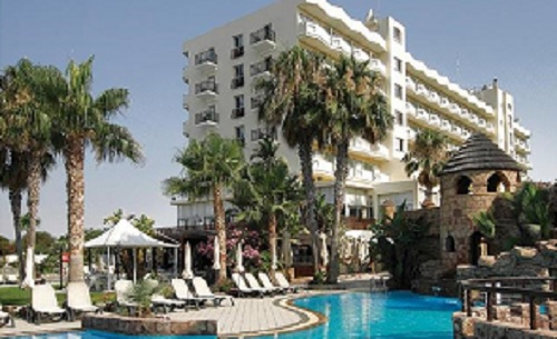 Lordos beach hotel 4* - exterior view