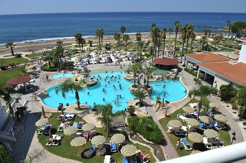 Sentido Cypria Bay 4*: main pool and gardens