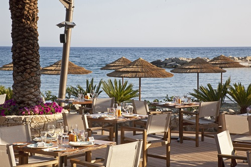 AMATHUS BEACH HOTEL 5* - Limanaki fish restaurant