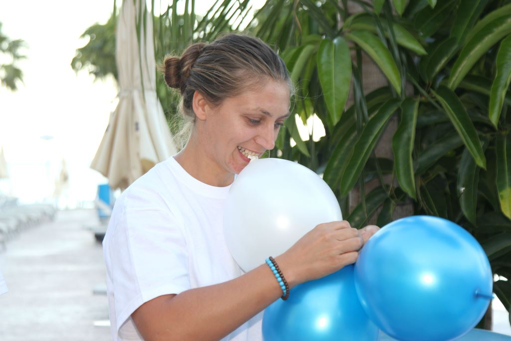 Gloria Travel Services moderator, teambuilding in Cyprus 2014