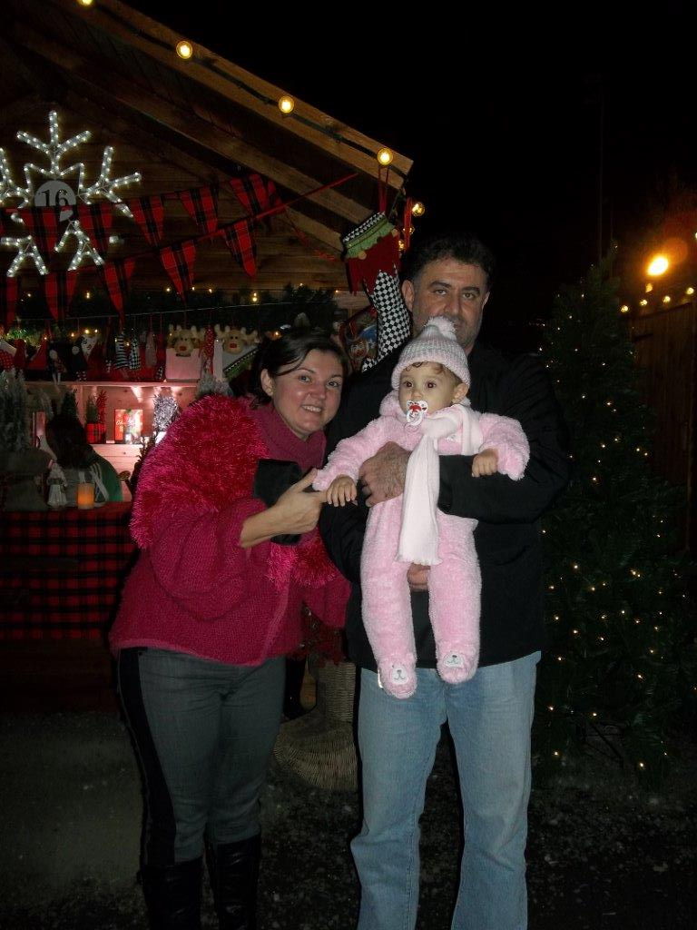 Gloria Travel Services family in Christmas village, Limassol, Cyprus 2014