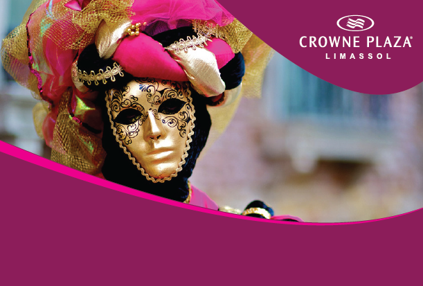 Carnival weekend in Crowne Plaza 4*sup, Limassol
