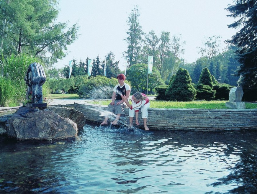 mineral waters in Bludov resort