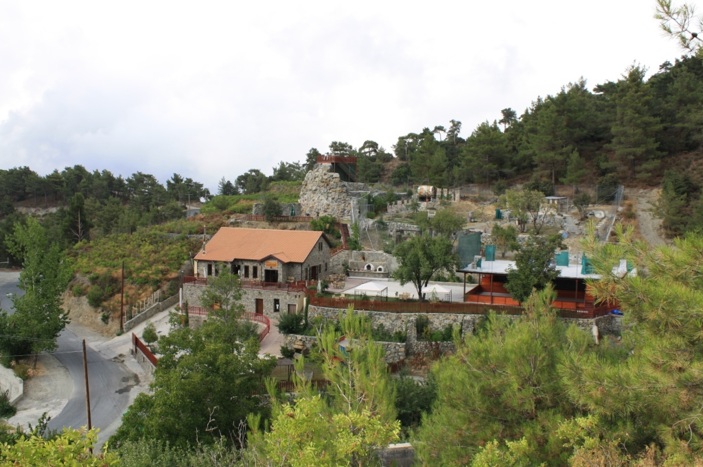 mountain adventure park in Cyprus