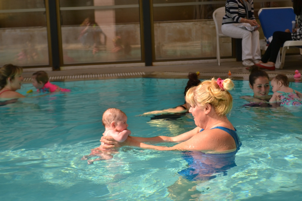 Cyprus, baby swimming lessons