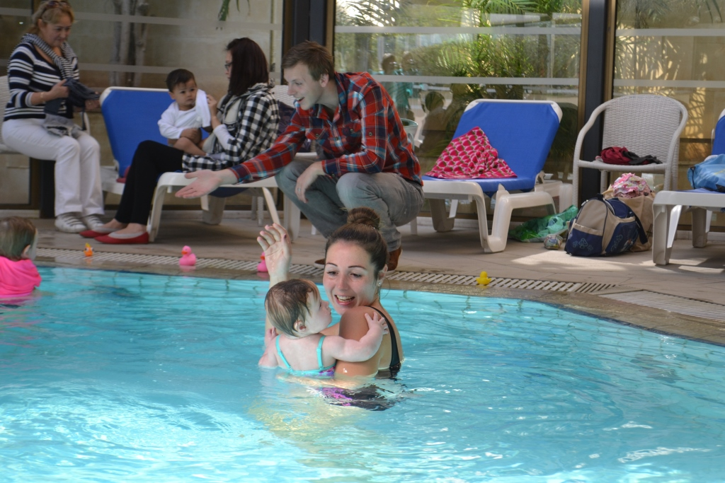 vacations in Cyprus, swimming lessons