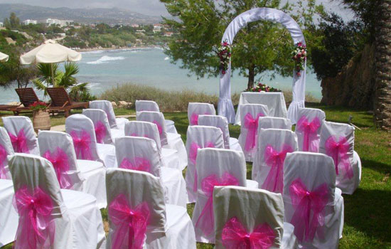 wedding in Paphos hotel by the sea