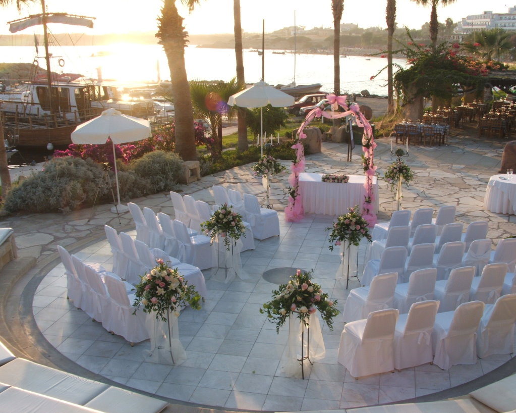 wedding in Coral Beach, Paphos