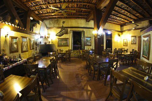 The Mylos restaurant in Troodos