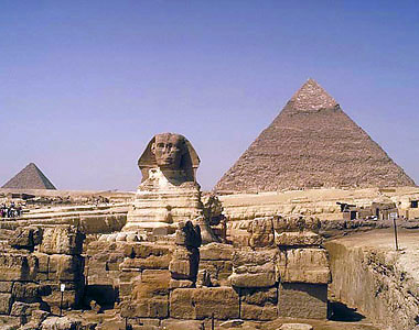 sphinx, weekend tour in Cairo from Cyprus